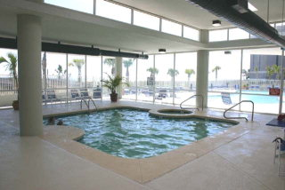 Tidewater indoor pool