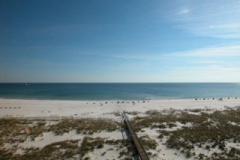 View of the beach from Tidewater